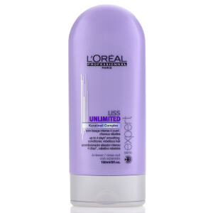 L'OREAL欧莱雅 顺柔润泽护发素150ml 专业洗护 免洗护发素 滋润顺滑秀发
