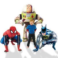 孩派 Anagram气球  场地装饰 蝙蝠侠 蜘蛛侠 玩具总动员铝箔气球