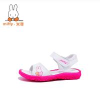 【两件6折 三件5折】Miffy米菲女童鞋凉鞋儿童公主鞋小女孩宝宝凉鞋2017新款韩版夏季