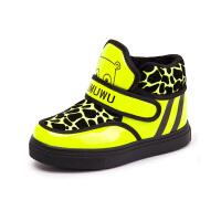 【全网百万妈妈的选择】木木屋童鞋 男童冬季新款儿童加绒棉鞋 女童韩版保暖加厚鞋子