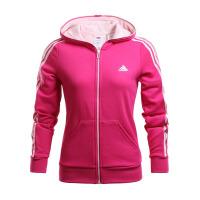 Adidas阿迪达斯  女子训练运动休闲针织夹克外套  AJ1237