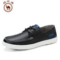 骆驼牌男鞋 夏季新品男士 鞋耐磨时尚板鞋简约透气休闲皮鞋