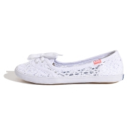 Keds 女鞋泰勒代言镂空蕾丝女鞋懒人平底鞋三色可选夏季女鞋凉鞋