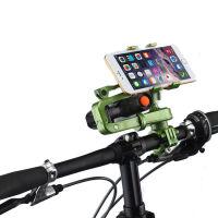御目 自行车配件 山地车自行车手机手电筒车载导航支架 自行车手机支架