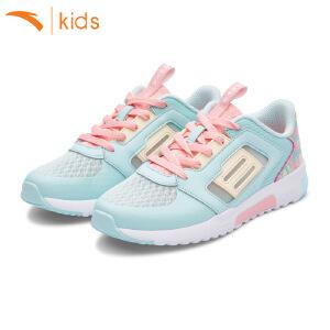 安踏童鞋女运动鞋网面2017新款夏季儿童跑步鞋女孩休闲鞋32728804