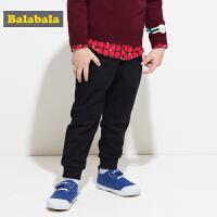 巴拉巴拉男童裤子小童宝宝长裤秋装2017新款童装儿童运动裤宽松