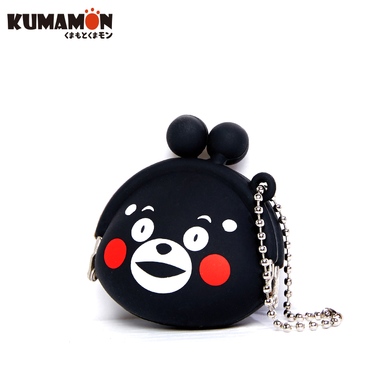 kumamon酷ma萌熊本熊零钱包 散钱包 动漫可爱挂绳小包 日本正版授权