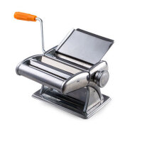 家用小型多功能饺子馄饨皮机压面机手动不锈钢擀面机