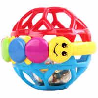 婴儿学爬摇铃当球手抓球3-6-12个月宝宝玩具0-1-2岁儿童音乐益智