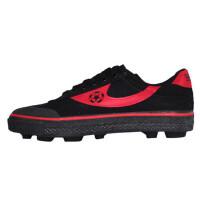 回力经典复古训练鞋 时尚碎钉足球鞋 男女款低帮帆布透气橡胶软底运动鞋F-1