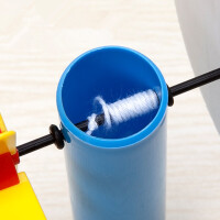 科技小制作 儿童幼儿园科学玩具物理实验材料科普玩具创意旋转盘