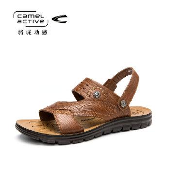 骆驼动感(camel active)夏季男士休闲沙滩男士凉鞋