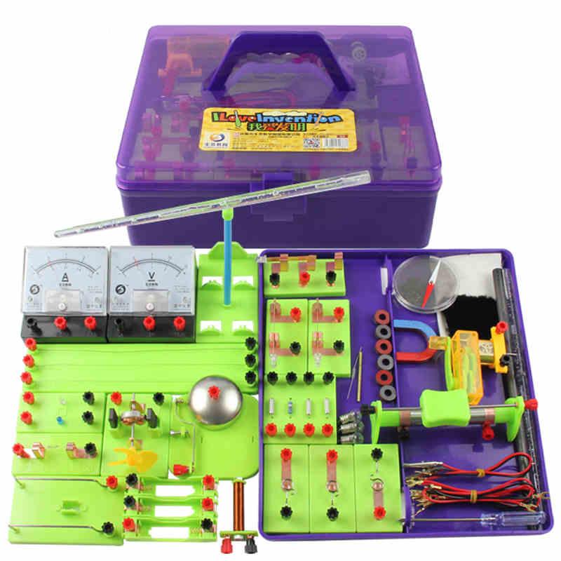 电学实验盒 初中物理电学实验器材 中学生九年级科学实验大套装