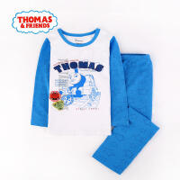 托马斯童装正版授权男童家居服套装男宝宝卡通内衣中小童儿童睡衣