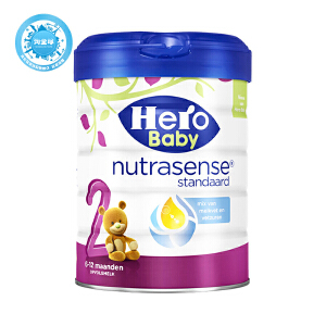 保税区直发  荷兰Hero Baby美素白金版奶粉2段 800g  保质期到18年12月左右
