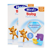 【2盒装】荷兰美素(Hero Baby)奶粉5段(2周岁以上宝宝)700g*2