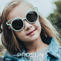 保圣 新款儿童太阳镜男童眼镜防紫外线小孩舒适蛤蟆镜 PK2031