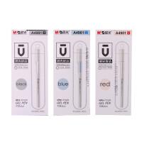 晨光文具 优品系列 0.5mm子弹头水笔 中性笔AGPA4901 红 蓝 黑色