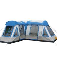 帐篷户外10-12人野营露营装备套餐登山防雨大帐篷套装