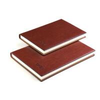 多功能A6/A5/B5商务办公线装软面抄厚记事本子笔记本文具可定制