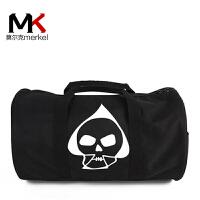 莫尔克(MERKEL)防水尼龙旅行包男手提包女短途旅游行李包商务出差包休闲运动健身包大容量