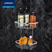 九牧(JOMOO)浴室挂件不锈钢三角篮置物架卫浴挂件937019