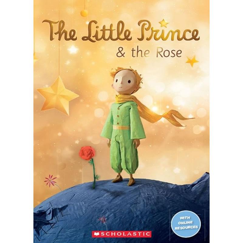 原版学乐分级读物小学阶段2级-小王子和玫瑰花(电影简写版)