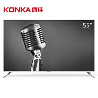 【当当自营】康佳(KONKA)B55U 55英寸4K超高清31核金属边框HDR智能液晶平板电视