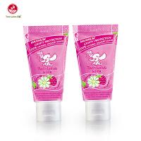双莲(twin lotus)优乳益齿儿童牙膏两支装 泰国进口 洁净口腔
