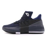 Adidas阿迪达斯男鞋 利拉德3代运动高帮实战篮球鞋 BB8271