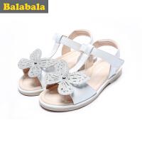 巴拉巴拉童鞋 女童单鞋 小童2017夏季新款 凉鞋儿童公主鞋子休闲夏