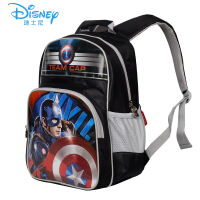 迪士尼小学生书包美国队长儿童背包1-3-6年级双肩包男