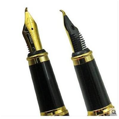 毕加索美工钢笔 毕加索902书法笔 弯头钢笔 美工笔_纯黑银夹美工笔1.