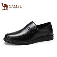骆驼牌休闲商务男鞋 时尚舒适耐磨办公室正装男鞋低帮鞋