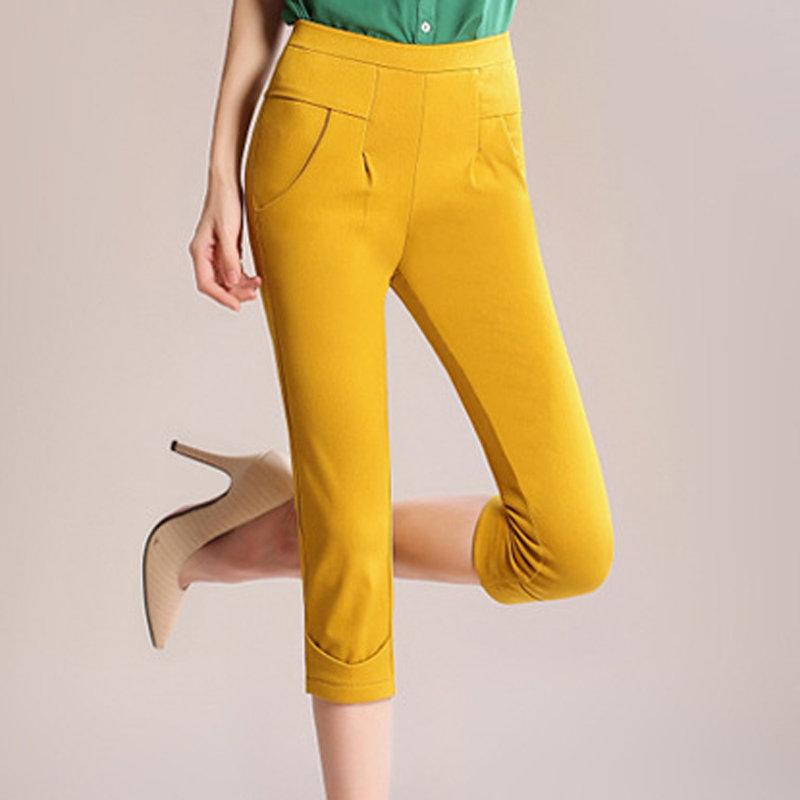 裤子2014亮色