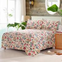 御目 床单 老粗布床单单件纯棉加厚1.5米/2/8m双人单人学生宿舍床全棉加厚加密布单枕套礼品卡家居床上用品