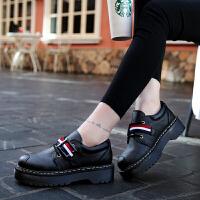 春季鞋女鞋韩版运动鞋女式低帮休闲鞋百搭学生系带松糕鞋子青春