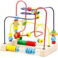儿童早教串珠婴儿绕珠玩具6-12个月男孩女孩0-1-2岁宝宝3周岁