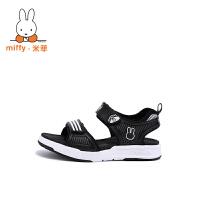 【两件6折 三件5折】Miffy米菲凉鞋夏季2017新款宝宝儿童沙滩鞋小童中大童男孩童鞋