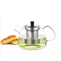 尚明加厚花茶壶高端泡茶壶高硼硅不锈钢内胆 玻璃茶具耐热玻璃茶壶大容量泡茶壶 S051