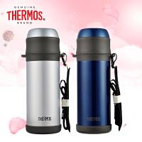 THERMOS/膳魔师2016新品不锈钢保温杯瓶大容量户外男士旅行水杯TCBI-1000