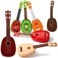 水果吉他玩具尤克里里乌克丽丽四弦小吉它婴儿彩色卡通夏威夷西瓜