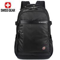 SWISSGEAR瑞士军刀双肩背包 防泼水面料男女商务休闲笔记本电脑包15.6英寸