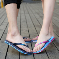 夏季新款男拖鞋男士人字拖情侣拖鞋韩版潮拖沙滩鞋浴室拖夹板女拖