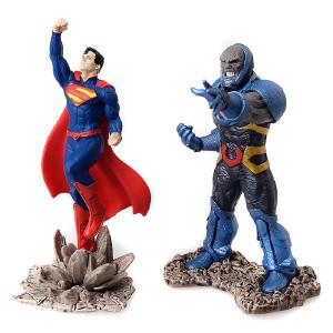 [当当自营]Schleich 思乐 DC超级漫画英雄系列 超人对阵黑暗魔君情景包 仿真塑胶模型收藏玩具动漫周边 S22509