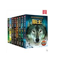 动物小说大王沈石溪动物小说鉴赏系列全套8册《狼王》 《豺王》 《鹰王》 《象王》 《狗王》 《猴王》 《火焰冰:狐狸的故事》 《月光森林:狐狸的故事》