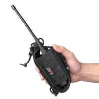 肩带腰挂双用对讲机包手臂包通用腰带挂包对讲机加厚专用套