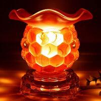 御目 玻璃香薰灯 创意香熏兼夜灯精油灯台灯器具可插电可调光