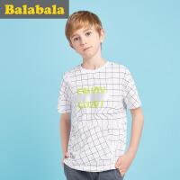 巴拉巴拉童装儿童短袖t恤男童中大童上衣2017夏新款儿童打底衫半袖