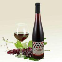 西班牙原装原瓶进口红甜葡萄酒  劳拉红